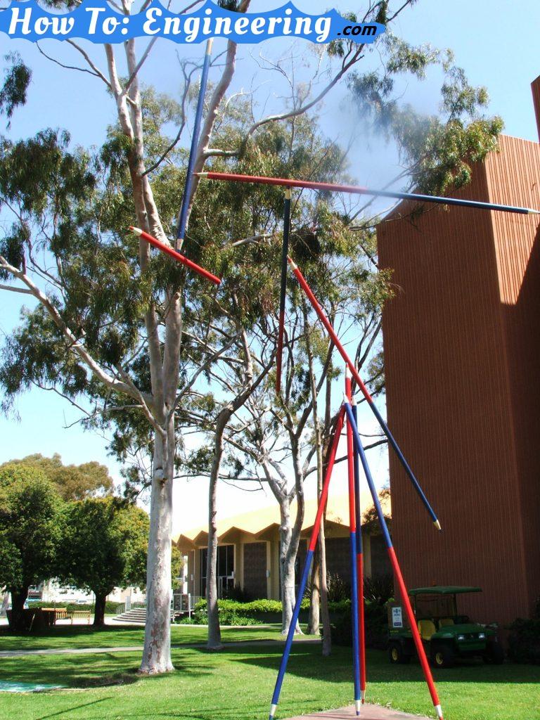 Kenetic sculpture University of California – Santa Barbara