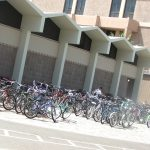 University of California – Santa Barbara lots of bicycles