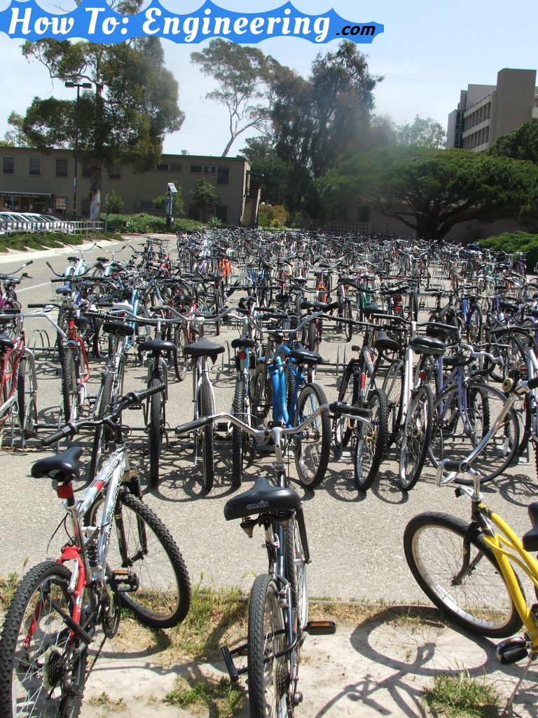 TONS OF BICYCLES!