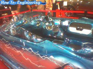 LA Auto Show - Subs, Amps, Fiberglass masterpiece