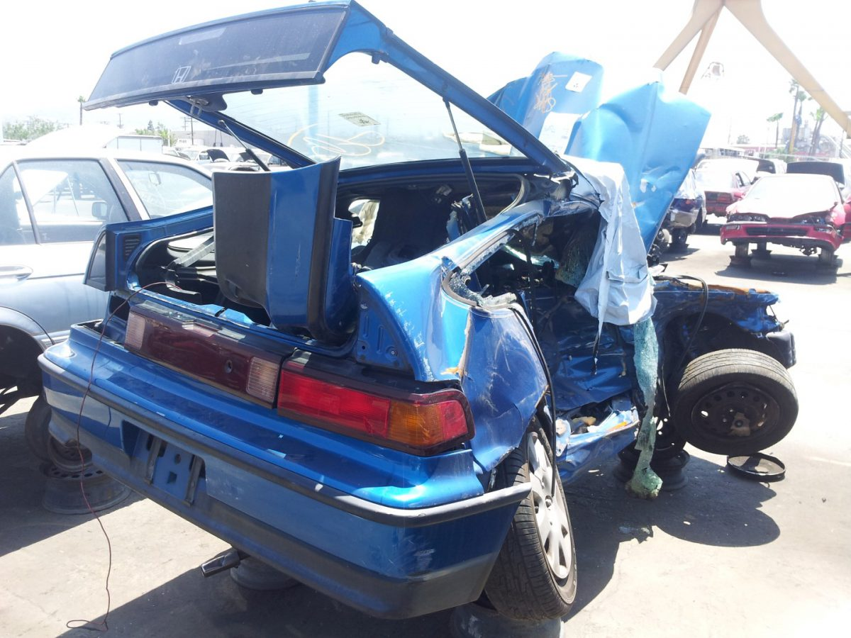 'Junk yard finds'! – Bio-hazard CRX!