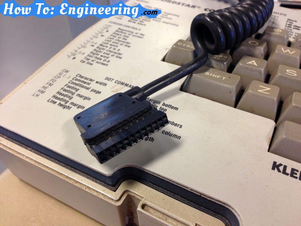 osborne 1 keyboard connector
